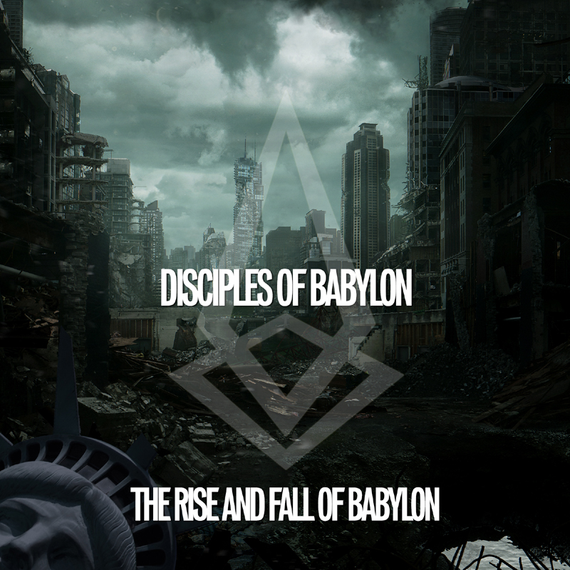 DOB Rise And Fall Of Babylon Album Cover 800x800
